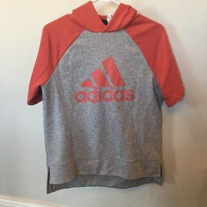 3/$50 Boys Adidas Short Sleeve Hoodie